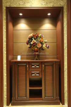 Furniture Luxury Shoe Cabinet Customized Sizes For Home