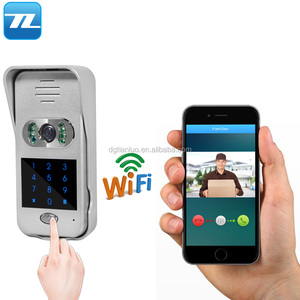 2017 New Wifi IP Video Intercom System with Door Entry Password Unlock