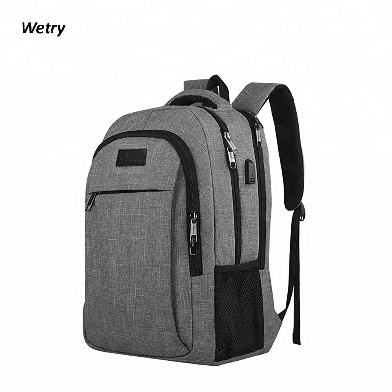 Stylish Business USB Charging Laptop Anti Theft <strong>Backpack</strong>,Waterproof College School Travel Back Pack <strong>Backpack</strong> Bag