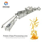 Automatic Mini Small Frozen Potato Chips French Fries Maker Making Production Machine Line