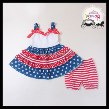 c8defb2086b 2016 new designs navy pentagramme july 4th baby clothes wholesale  independence day kids wear boutique girl