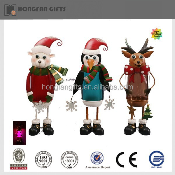 popular metal outdoor christmas light animals