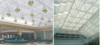Roof Skylight / Indoor door Roller Blinds/Electric/Motorized Skylight blinds