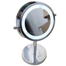 6-inch tabletop lighted led compact mirror