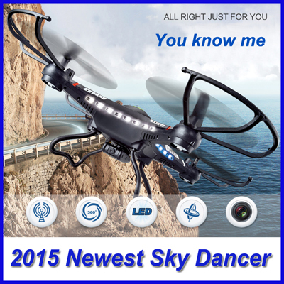 2014 Newest 2.4G RC Helicopter 6-Axis GYRO Quadcopter Drone With LED Camera Optional Cheapest RC Toys Better than Syma X5C Stock
