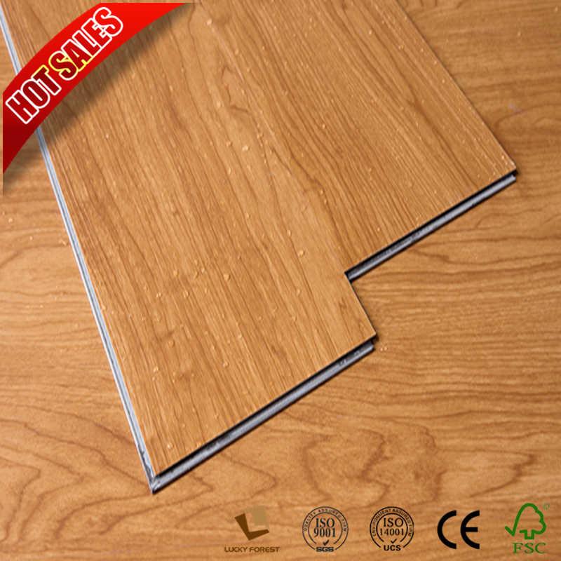 Commercial 4mm 5mm Click Lvt Flooring Vinyl Plank