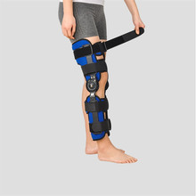 Black Functional Medical Adjustable Orthopedic Knee Brace