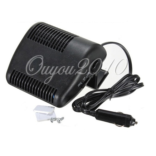 One Piece Portable 12v Auto Car Vehicle Heater Heating Fan