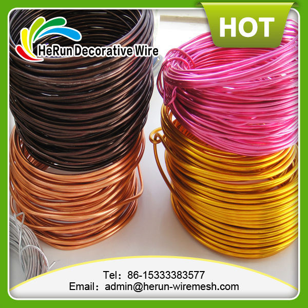Aluminum jewelry making wire