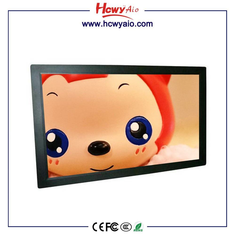 Android Touchscreen IPS Panel Wall Mount 15 18 21 24 27 32 inch Advertising Player