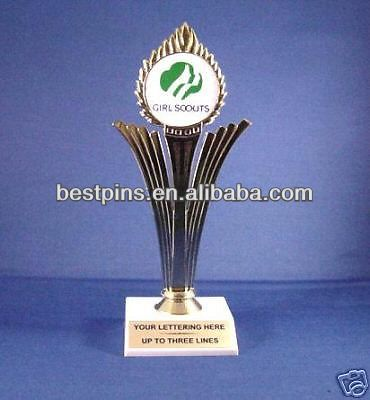 NEW GIRL SCOUT  AWARD TROPHY FREE ENGRAVING TROPHIES