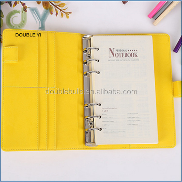 custom/wholesale multi - functional business card notebook