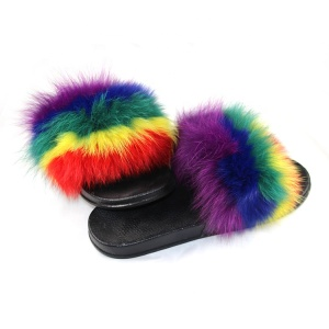 wholesale fur slippers women slippers sandals