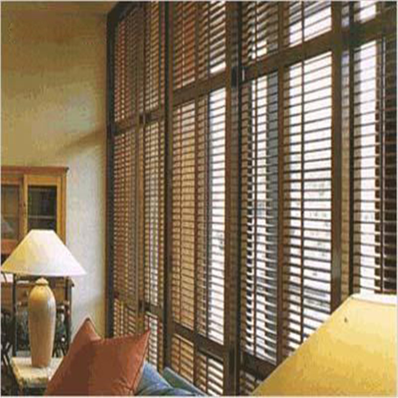Home decoration Heat resisting interior wood shutters