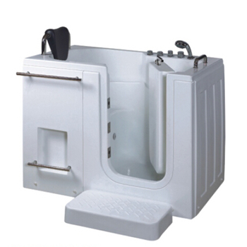Hs B1105 Small Size Indoor Acrlyic Sitting Walk In Tub