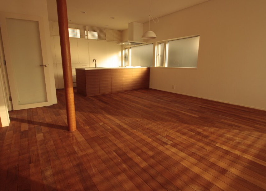 Matt oiled burma teak solid wood flooring for interior use