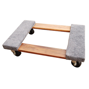 Heavy duty mover's dolly 1000lb moving furniture pallet dolly