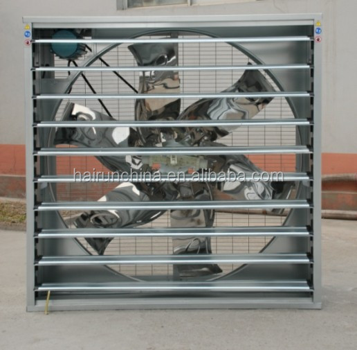 Poultry farm air cooling equipment louvered exhaust fan/centrifugal fan/box fan