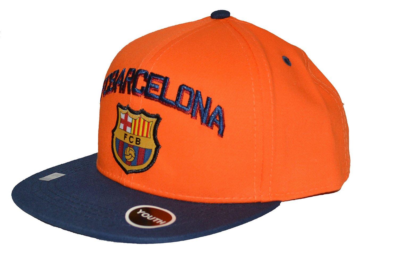 a10eb4d1bd3 Fc Barcelona Snapback Youth Kids Adjustable Cap Hat - Blue - Orange - Red  New Season