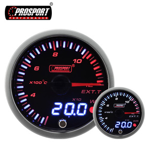 Universal Tuning With Instruction Manual Prosport Egt Gauge