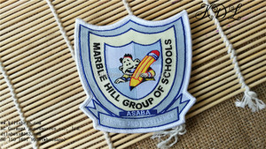 custom design woven patches school pins and badges