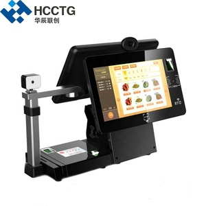Support WIFI Bluetooth Android 15.6 Inch Dual Touch Screen Retail pos System HKS10-EA