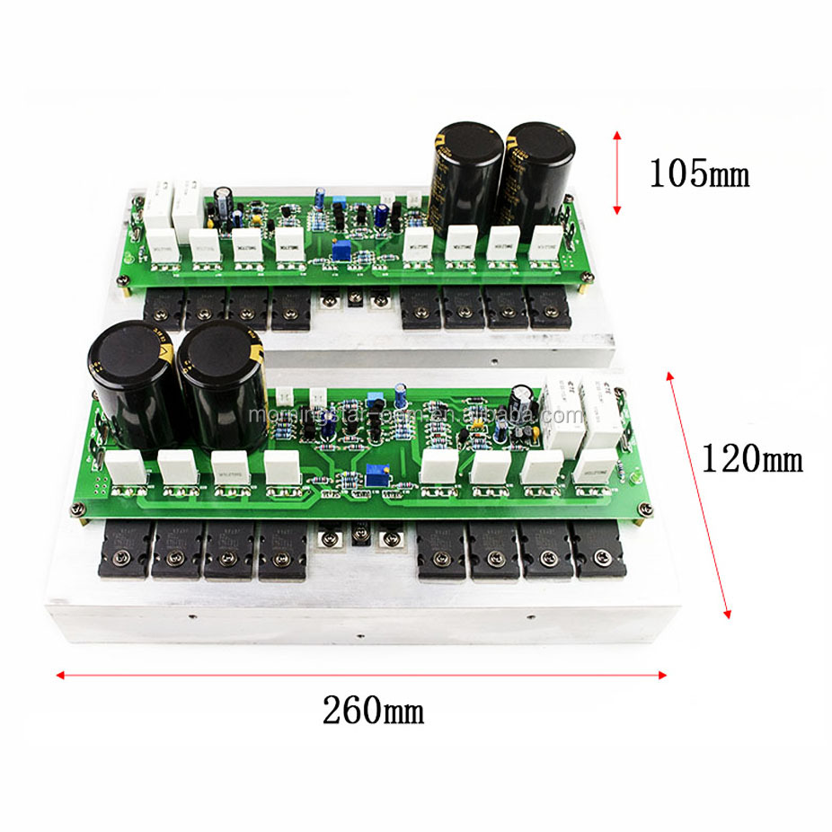 Customizable HIFI 1000W 4ohm Mono Audio Power Amplifier Module Circuit Board Assembled profession amplifier for stage home