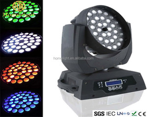 LED moving head beam 36pcs*10w FOCUS RGBW shook his head dyed lighting