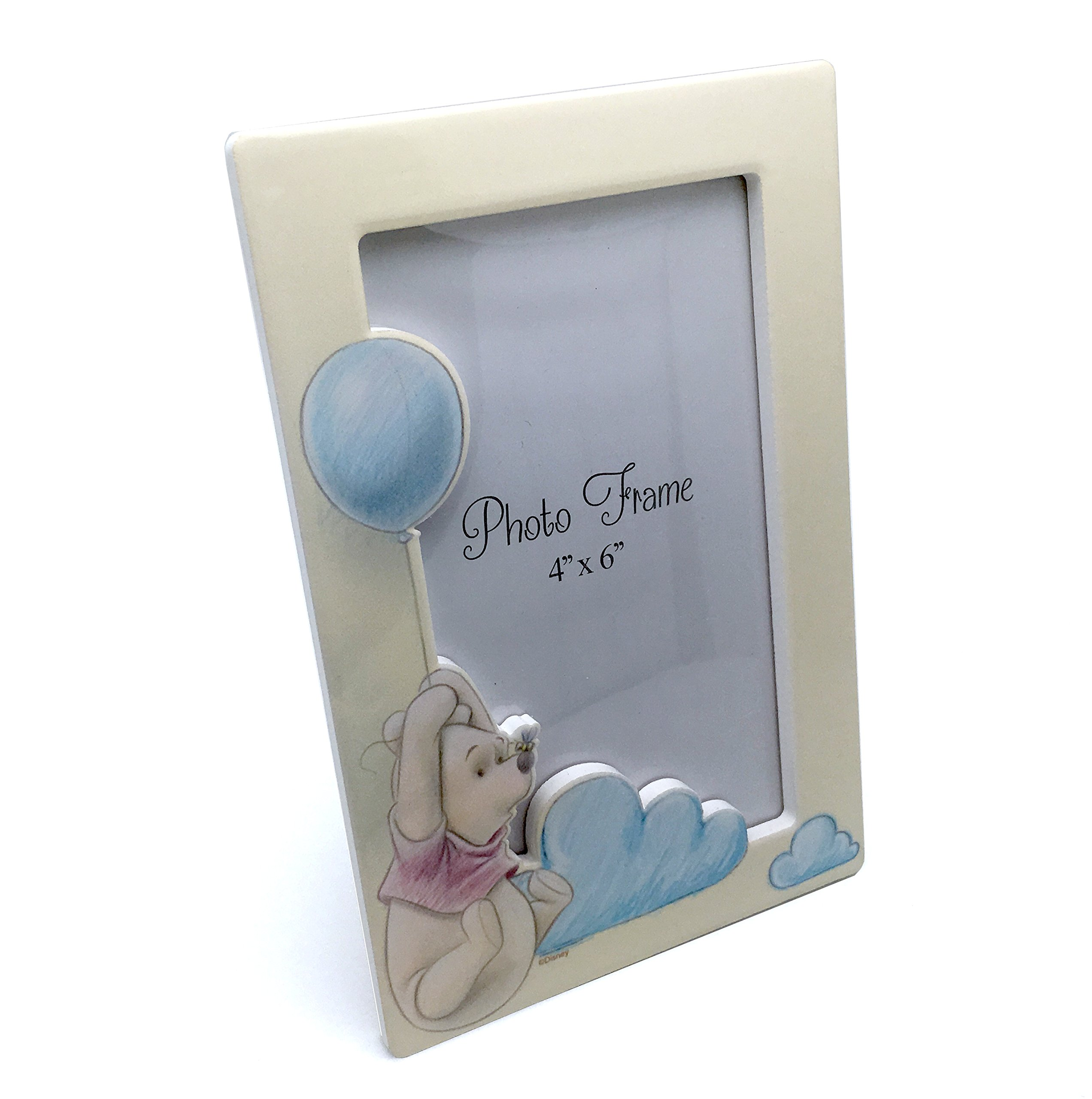 Disney Winnie The Pooh New Baby Ceramic Photo Frame Gift Boxed