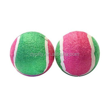 Tennis Balls For Dogs 2 Pack Scoochie Poochie Tuff Balls For Dogs