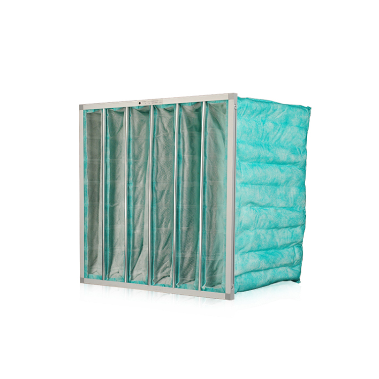 F6 green washable industrial smoke air filter