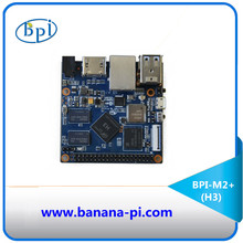 The mini size only 65mm*65mm Banana Pi BPI-M2+ support WIFI on board and use Alliwnner H3 chip