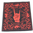 High quality limited custom design print cotton square bandana