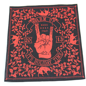 NO MOQ limited custom design square bandana