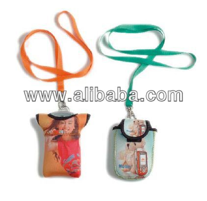 art.Lanyard Cellphone Holder
