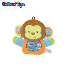 BobearToys stuffed animal monkey cartoon animal glove puppet new plush toys cute hand puppet for adult