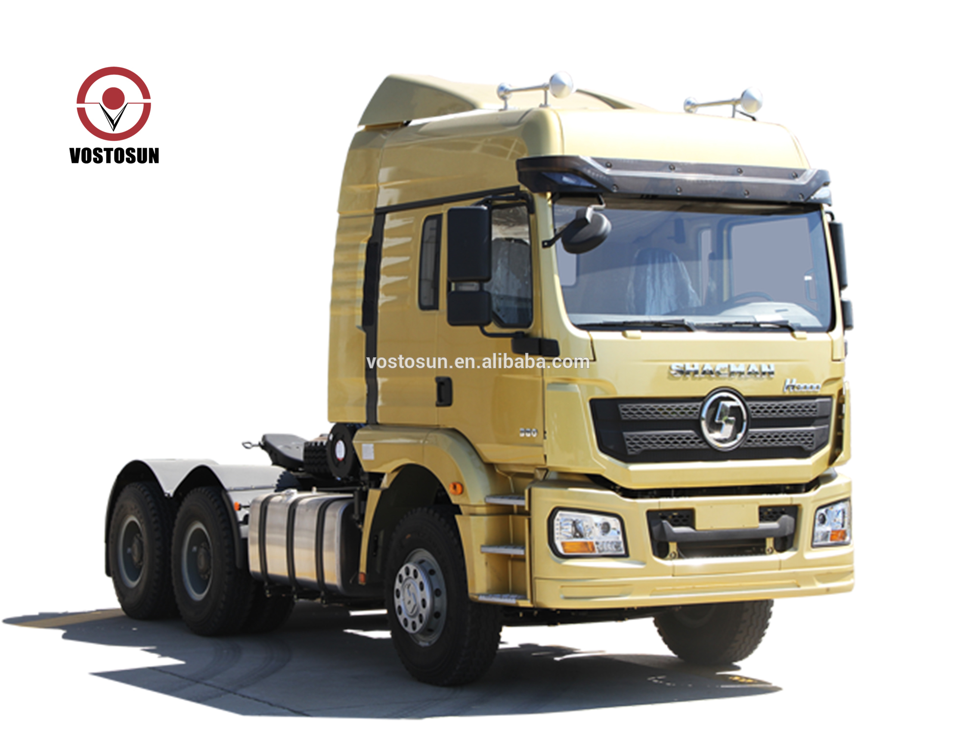 H3000-SX4255HT324 375hp Camion Del Trattore 6X4 SHACMAN Drive Discarica Camion Diesel Testa