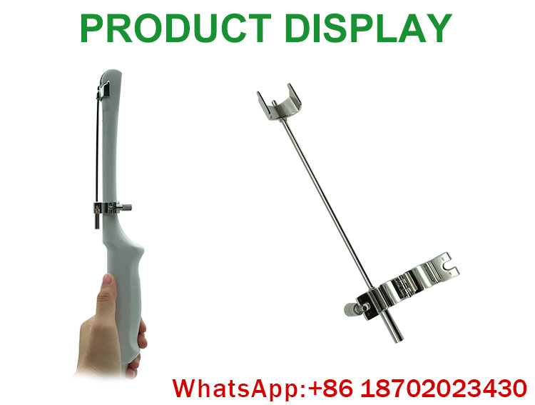 IN-A047 high quality stainless steel kidney/liver/GYN biopsy needle guide for ultrasound