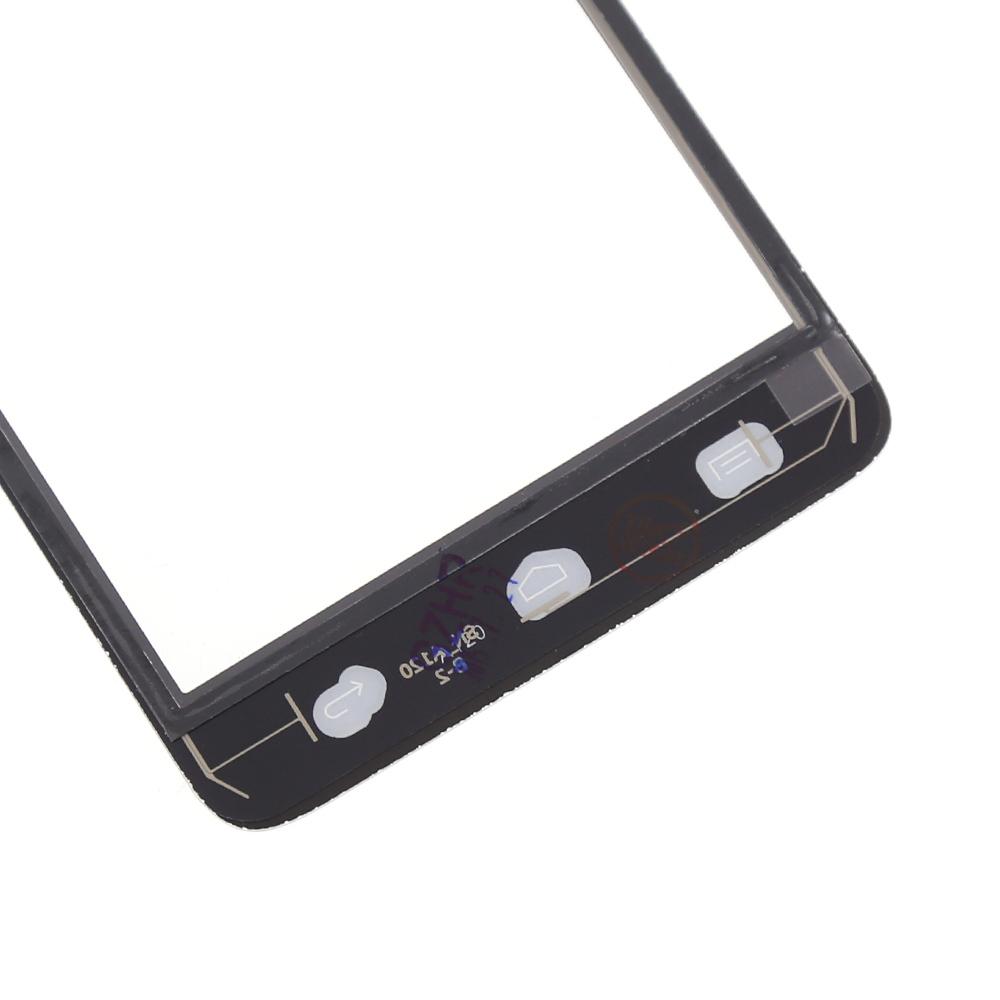 Для Wiko радуга S5500 сенсорный экран с цифрователем касание панель замена, Черный