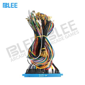 diy arcade jamma wire harness, 28 pins blue arcade game machine wiring  harness connector