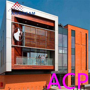 High quality building materials A2 Fire Resistant ACP 8mm Aluminum Composite Panel Price
