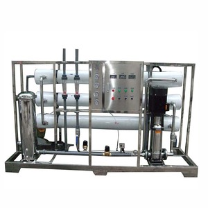 Chemical Industry Reverse Osmosis 5000 lph Water Treatment Plant