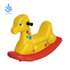 YF-08005 animals rider best selling kindergarten family use plastic baby toy indoor playground equipment kids rocking horse