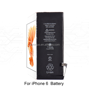 hight quality Battery For iphoness Battery 0 Cycle For iphoness 5/6/6s/7/7p/8/8p/X Battery replacement Li-ion Polymer