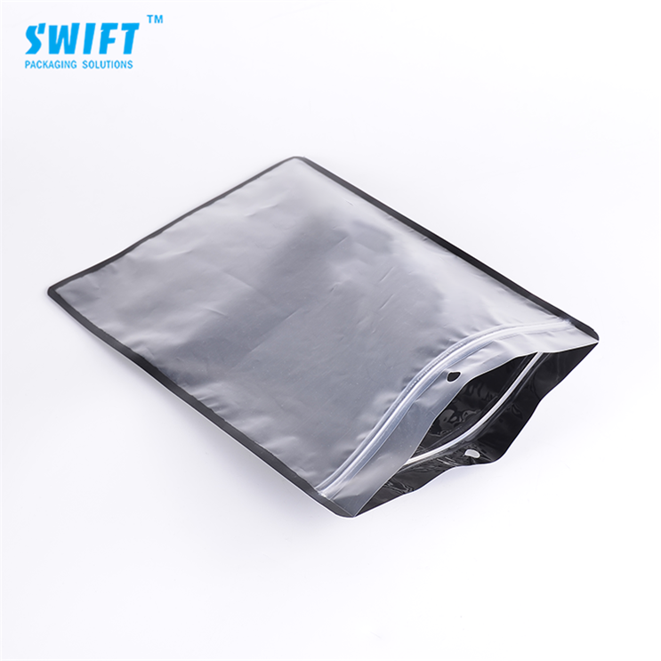High quality custom printed zip lock packing opp plastic bag manufacturer clear garment poly bag