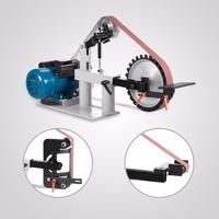 Wide Belt Sander 2 x 82 Inch Belt Grinder Sander 1.5 KW 2 HP Constant Speed Belt Grinder Electric Sander for Knife Making