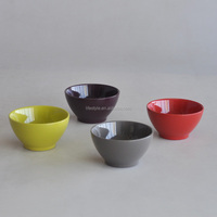 Ceramic Handpainted Soup Bowl With Lid