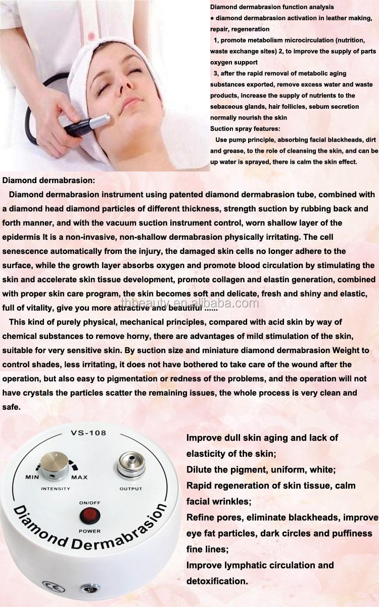 salon microdermabrasion machine