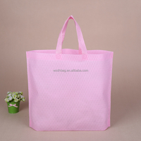 Wholesale Ecological Luxury Tote Non Woven Carry Bag For Super Market