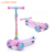 Girls age 6 toy flicker kick scooter for children / children scooter bike / big wheels kids pedal kick scooter